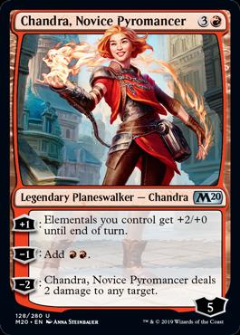 Chandra, Novice Pyromancer - Magic: the Gathering