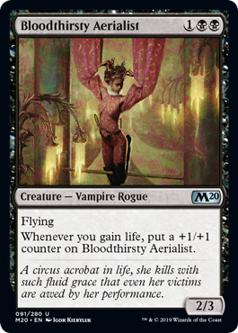 Bloodthirsty Aerialist - Magic: the Gathering