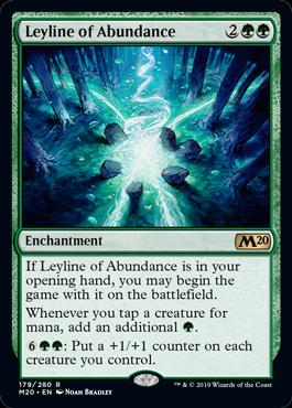 Leyline of Abundance - Magic: the Gathering