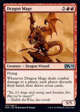Dragon Mage - Magic: the Gathering