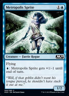 Metropolis Sprite - Magic: the Gathering
