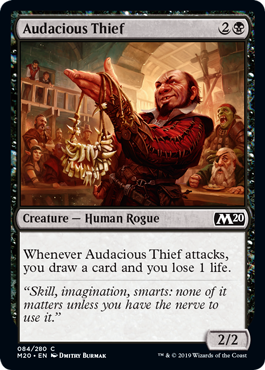 Audacious Thief - Magic: the Gathering