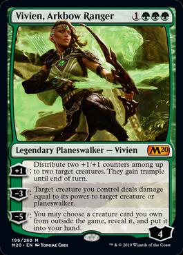Vivien, Arkbow Ranger - Magic: the Gathering