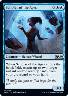 Scholar of the Ages - Magic: the Gathering