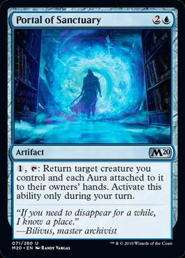 Portal of Sanctuary - Magic: the Gathering