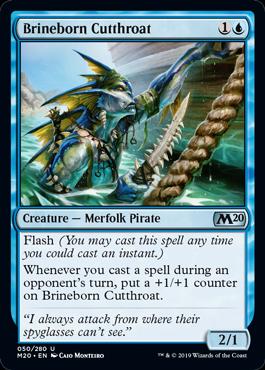 Brineborn Cutthroat - Magic: the Gathering