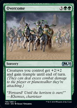 Overcome - Magic: the Gathering