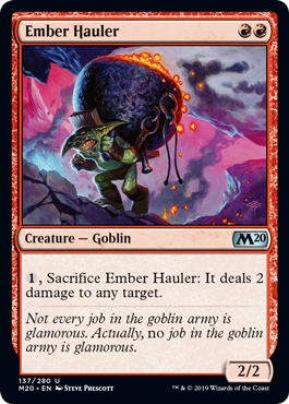 Ember Hauler - Magic: the Gathering