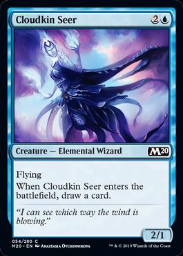 Cloudkin Seer - Magic: the Gathering