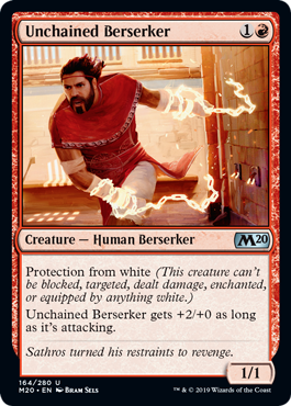 Unchained Berserker - Magic: the Gathering