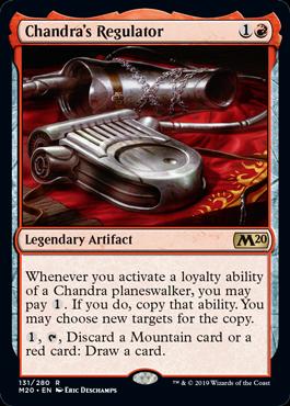 Chandra's Regulator - Magic: the Gathering