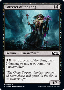 Sorcerer of the Fang - Magic: the Gathering