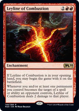 Leyline of Combustion - Magic: the Gathering