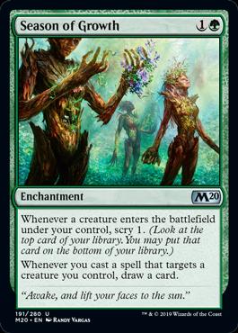 Season of Growth - Magic: the Gathering