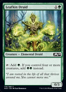 Leafkin Druid - Magic: the Gathering
