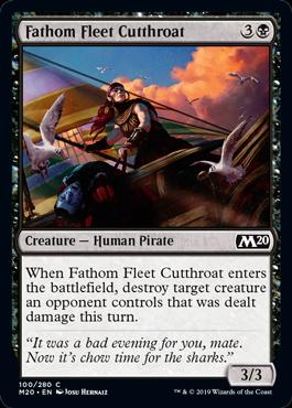 Fathom Fleet Cutthroat - Magic: the Gathering