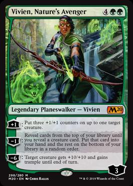Vivien, Nature's Avenger