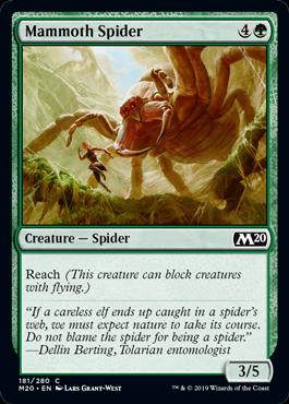 Mammoth Spider - Magic: the Gathering