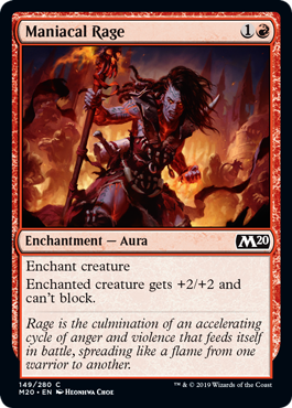 Maniacal Rage - Magic: the Gathering