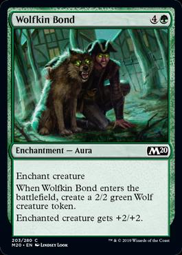 Wolfkin Bond - Magic: the Gathering