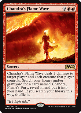 Chandra's Flame Wave