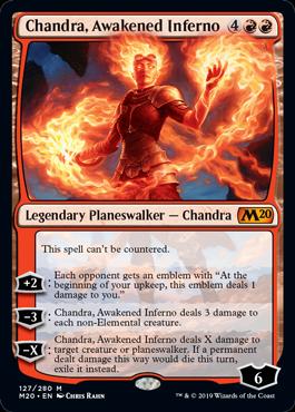 Chandra, Awakened Inferno - Magic: the Gathering