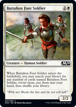 Battalion Foot Soldier
