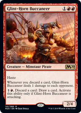 Glint-Horn Buccaneer - Magic: the Gathering