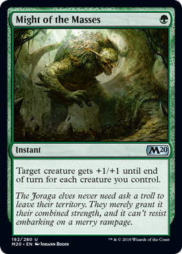 Might of the Masses - Magic: the Gathering