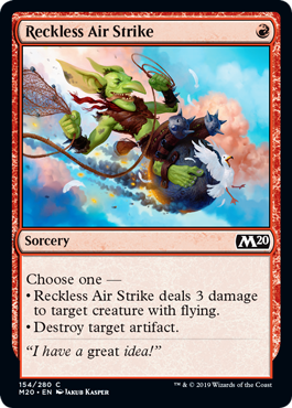 Reckless Air Strike - Magic: the Gathering