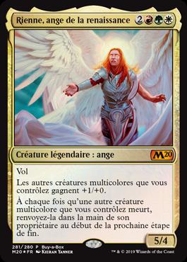 Rienne, ange de la renaissance