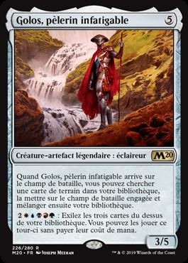 Golos, pèlerin infatigable