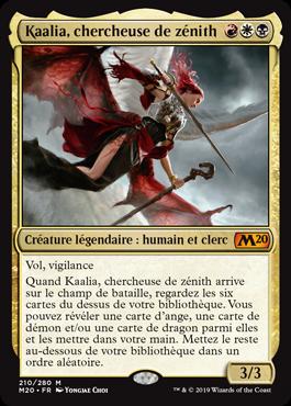 Kaalia, chercheuse de zénith