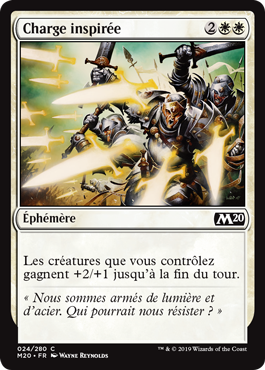 Charge inspirée