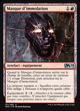Masque d'immolation