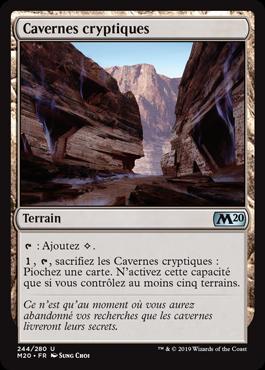 Cavernes cryptiques