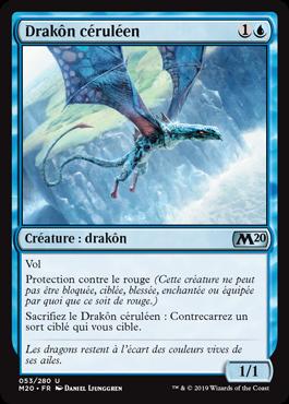 Drakôn céruléen