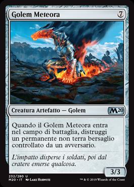 Meteor Golem