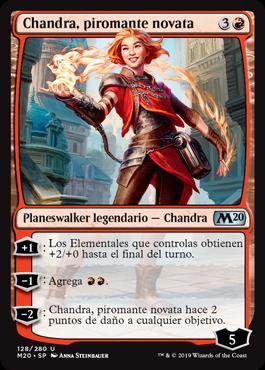 Chandra, piromante novata