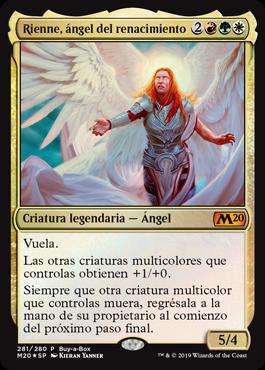 Rienne, ángel del renacimiento