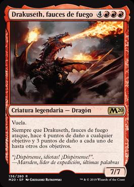 Drakuseth, fauces de fuego