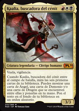 Kaalia, buscadora del cénit