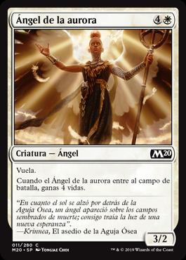 Ángel de la aurora