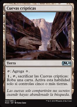 Cuevas crípticas