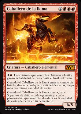 Caballero de la llama