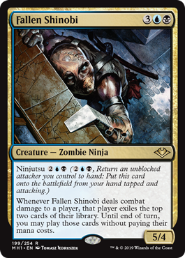 Fallen Shinobi Magic The Gathering