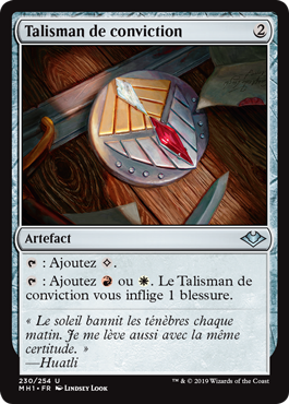 Talisman de conviction