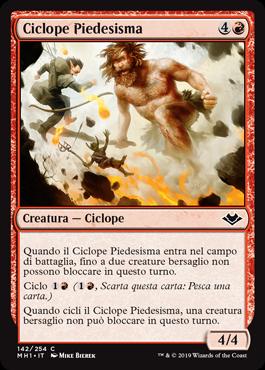 Ciclope Piedesisma