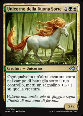 Unicorno della Buona Sorte