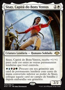 Sisay, Capitã do Bons Ventos